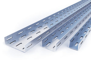 Металлические кабельные лотки для прокладки кабеля