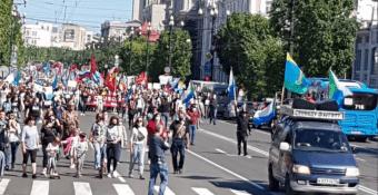 В Хабаровске прошла очередная акция в поддержку Сергея Фургала. ВИДЕО