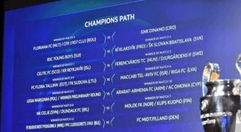 Второй квал. раунд Лиги чемпионов 2020/21: результаты