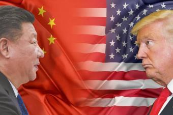 США и Китай рассорились из-за коронавируса и катятся вниз..